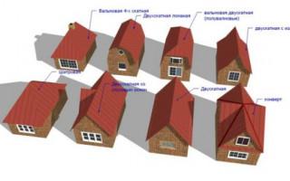 Как построить четырехскатную крышу своими руками монтаж кровельного пирога под вальмовую кровлю