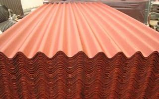 Ондулин: технические характеристики материала