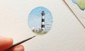 Акварельные карандаши; как рисовать правильно