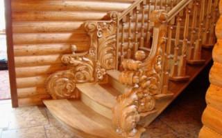 Деревянные перила для крыльца своими руками