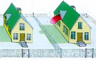 Как разделить землю между соседями