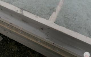 Пол на свайном фундаменте в каркасном доме