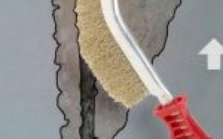 Чем замазать швы в кипичной кладке на балконе