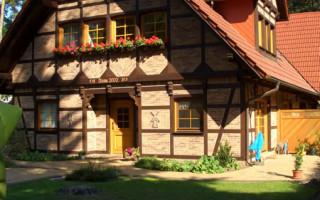 Немецкий фасад дома в стиле фахверк своими руками
