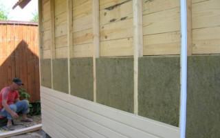 Инструкция по утеплению стен деревянного дома снаружи минватой и другими материалами
