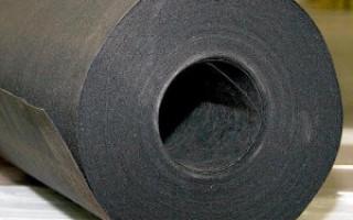 Рубероид: технические характеристики