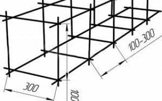 Расход арматуры на 1 м3 бетона монолитной плиты