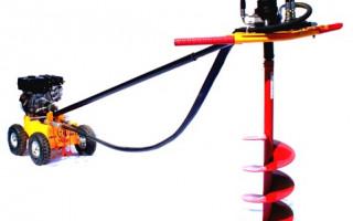 Как закрутить винтовые сваи с помощью мотобура