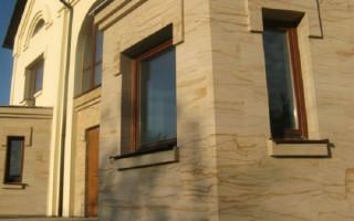Что представляет из себя гибкий камень для отделки фасада дома фото