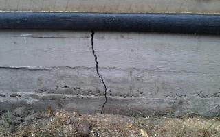 Причины появления трещин в бетон после заливки и способы их устранения