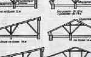 Как переделать односкатную крышу на двухскатную