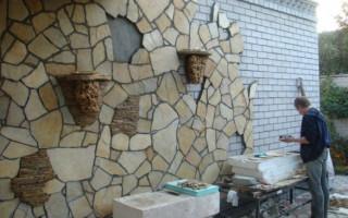 Ттк облицовка фасадов плитками из естественного и искусственного камня