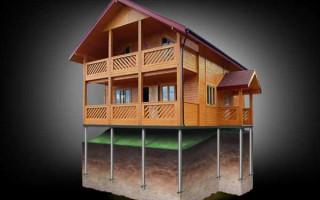 Какой фундамент выбрать для дома из бруса на глинистой почве – Какой фундамент лучше для дома из бруса на суглинистой почве