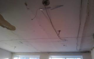 Натяжной потолок и пароизоляция