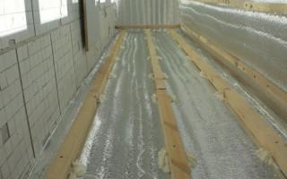 Пароизоляция балкона при утеплении изнутри пеноплексом или минватой своими руками: Инструкции Фото и видео