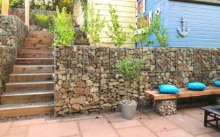 Как сделать забор из габионов своими руками: делаем забор из камней в сетке
