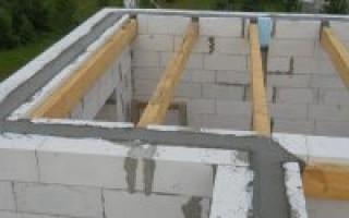 Строительство дома из пеноблоков своими руками от фундамента до крыши видео