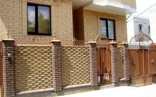 Кирпичный фасад; цветовые сочетания, варианты применения и лучшие идеи оформления фасада кирпичной кладкой (110 фото)
