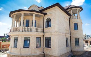 Особенности облицовки фасадов дагестанским камнем