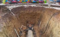 Ввод водопровода в дом под фундаментом