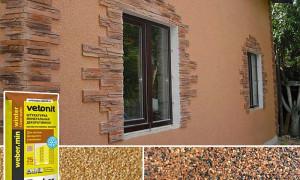 Отделка дома фасадной штукатуркой: выбираем лучшие смеси для наружных работ и закрываем стены по технологии
