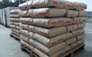 Расход цемента на 1 куб бетона (М100, М200, М300, М400, М500)