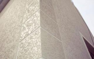 Стилизация фасада декоративной штукатуркой; короед: как это выглядит и сколько стоит