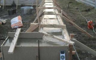 Когда можно нагружать бетон после заливки