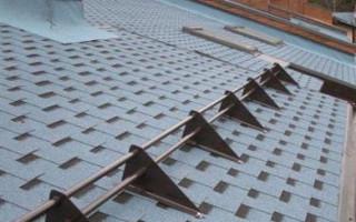 Снегоудерживающие устройства для крыши