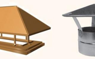 Как сделать зонт для трубы дымохода своими руками и особенности монтажа