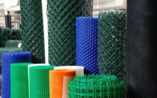 Практическое применение пластиковой сетки для забора