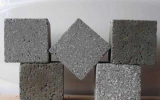 Пропорции приготовления раствора из отсева и цемента