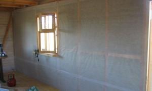 Пароизоляция стен: назначение, применение, виды и способы их установки