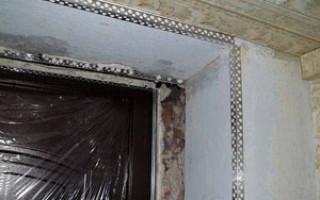 Как сделать своими руками откосы на двери из гипсокартона