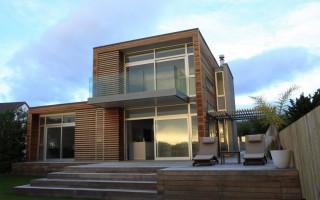 Дом в стиле хай-тек; 125 фото оформления фасадов современных домов и построек