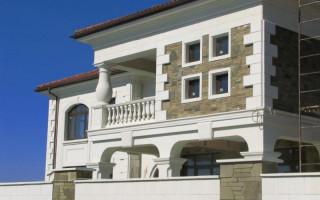 Отделка фасада камнем: современные варианты отделки и примеры оформления фасада (90 фото)