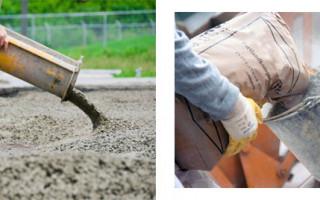 Как правильно замешивать бетон в бетономешалке и какие соблюдать пропорции в ведрах