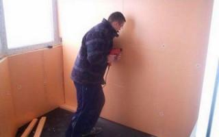 Как правильно уложить пароизоляцию на стены балкона с пеноплексом