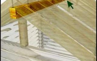 Псул для конька крыши