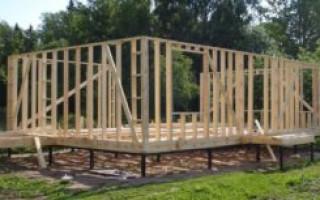 На какой фундамент лучше ставить каркасный дом